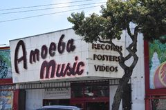 From Park Bowl alley to Amoeba Music, 1. royalty free stock photo