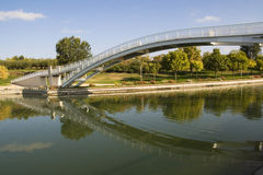 Park bridge Royalty Free Stock Photo