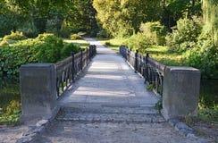 Park bridge Stock Photos