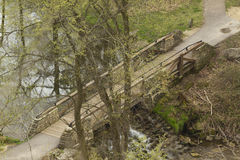 Park Bridge Above Stock Photography