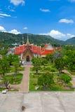 Park of  Buddhist temple Stock Photo