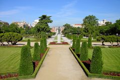 Park Buen-Retiro, Madrid Royalty Free Stock Photo