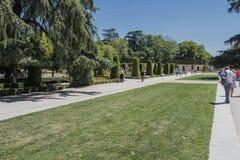Park Buen-Retiro, Madrid Stock Photography