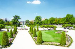 Park Buen-Retiro, Madrid Royalty Free Stock Image