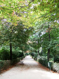 Park Buen-Retiro, Madrid, Spain Royalty Free Stock Photos