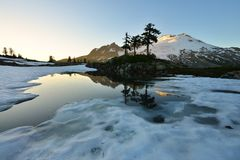 Park Butte, Mt. Baker National Recreation Area Royalty Free Stock Images