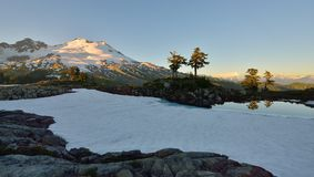 Park Butte, Mt. Baker National Recreation Area Royalty Free Stock Photography