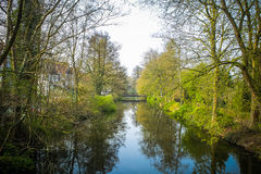 Park in Buxtehude. (lower Saxony, Germany Royalty Free Stock Image