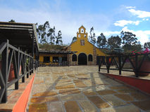 Park of the canyon of Chicamocha. BUCARAMANGA, COLOMBIA - AUGUST 3: Square in the park of the canyon of Chicamocha on August 3, 2013 in Bucaramanga, Colombia Stock Photography