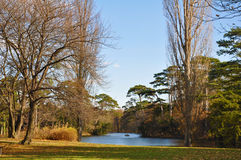 Park of Castle Laxenburg Royalty Free Stock Photography