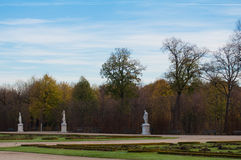 Park of Castle Schoenbrunn Stock Photography