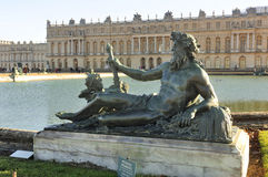 Park of castle of Versailles Stock Image
