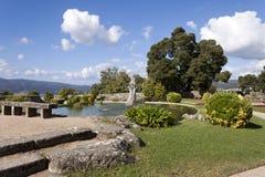 Park in Castro Mount in Vigo royalty-vrije stock foto's