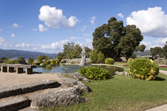 Park in Castro Mount in Vigo Royalty Free Stock Photos