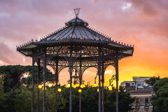 Park in Catania. Arbour in the centre of Vincenzo Bellini Park in Catania, Sicily, Italy Royalty Free Stock Image