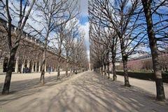 Park in a center of Paris Stock Photos