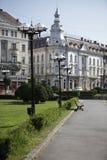 park in centrum van cluj-Napoca Stock Foto
