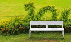Park Chair. Chair in the garden Sit back and relax Stock Photography