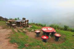 Park Chair. Phetchabun province nature thailand Stock Photos