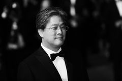 Park Chan-wook attends the `In The Fade Aus Dem Nichts`. Premiere during the 70th annual Cannes Film Festival at Palais des Festivals on May 26, 2017 in Cannes stock photography