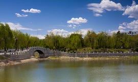 Park of changchun china Stock Image
