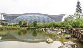 The park in chengdu,china Royalty Free Stock Photography