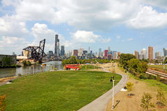 Park in Chicago Stock Photography