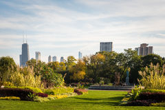 Park in Chicago Illinois Royalty Free Stock Image