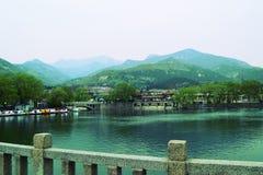 Park China-Taishan Stockbilder