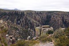 The park of Chiricahua - Arizona - the United States Royalty Free Stock Photos