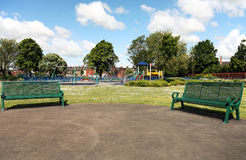 Park in the city Stock Photography