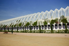 Park in the City of Arts and Sciences Royalty Free Stock Photography