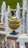Park city fountains Royalty Free Stock Images