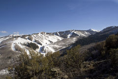 Park City Landscape. A beautiful landscape taken of the Park City ski resort Stock Photo