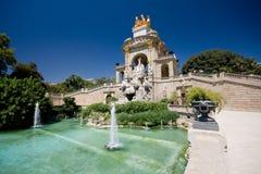 Park Ciutadel in Barcelona. Fountain, park Ciutadel in Barcelona Stock Photo