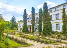 Park in Cluj-Napoca. The botanical garden of Cluj-Napoca, Romania Stock Photos