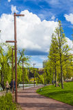 Park in Cluj-Napoca Stock Photos