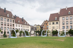 Park in colmar Royalty Free Stock Photo