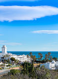 Park Commercial Centre at Mojacar Stock Images