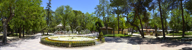 Park concordia in giuadalajara spain Stock Images