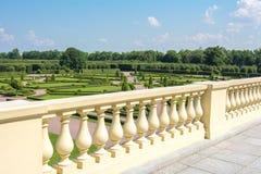 Park Constantine Konstantinovsky pałac w Strelna, St Petersburg, Rosja zdjęcie stock