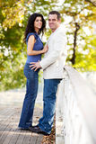 Park Couple Royalty Free Stock Images