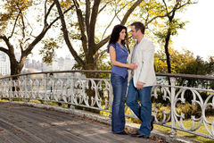Park Couple Love Royalty Free Stock Images