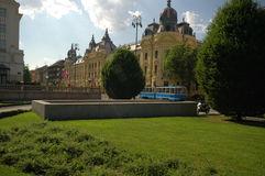 park croatia Zagrzeb Obrazy Royalty Free