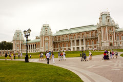 Park of Culture and Rest Tsaritsyno in Moscow Stock Photo
