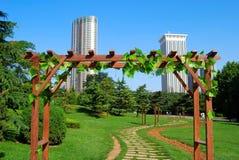 Park. Dalian, China. Stock Images