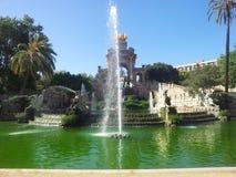 Park de la Ciutadella Image libre de droits