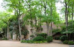 Park de la Devesa in Girona, Spain Stock Photos