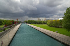 Park de la Villette Royalty Free Stock Photos