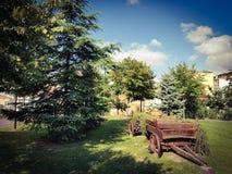 Park in de stad Royalty-vrije Stock Afbeelding
